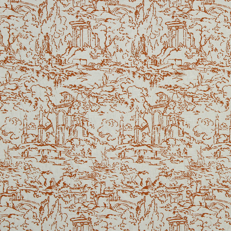 SUNRISE Meeting Place Fabric - Sunrise
