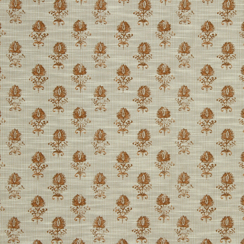 SUNRISE Cloe Flora Fabric - Sunrise