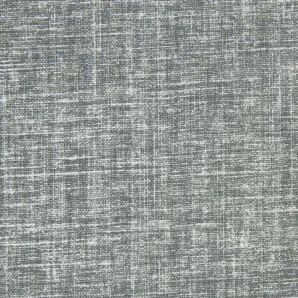DWELLSTUDIO MODERN COLOR THEORY Regency Linen Fabric - Steel