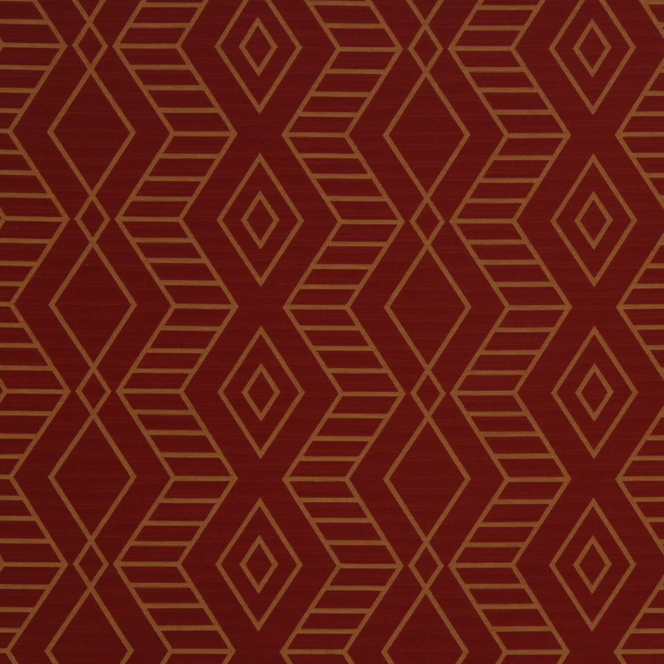 ECLECTIC Diamond Zone Fabric - Ember