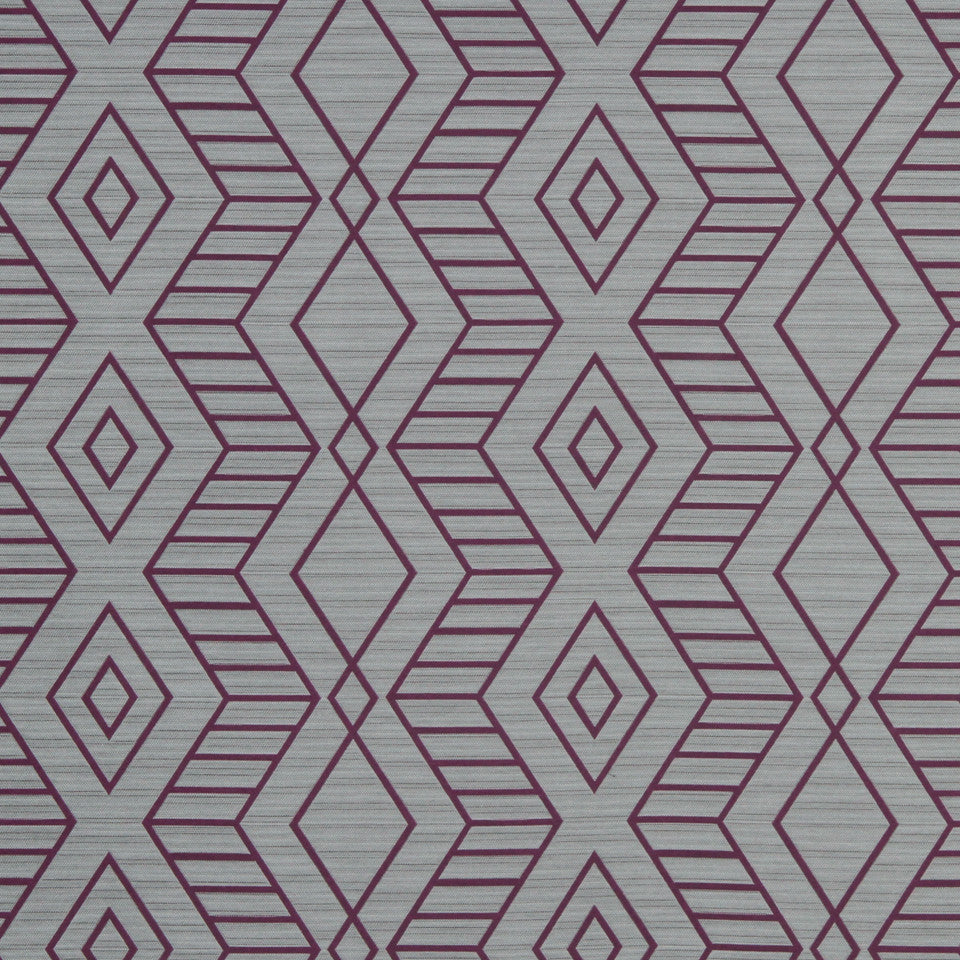 ECLECTIC Diamond Zone Fabric - Iris