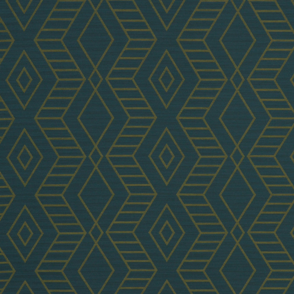 ECLECTIC Diamond Zone Fabric - Lagoon