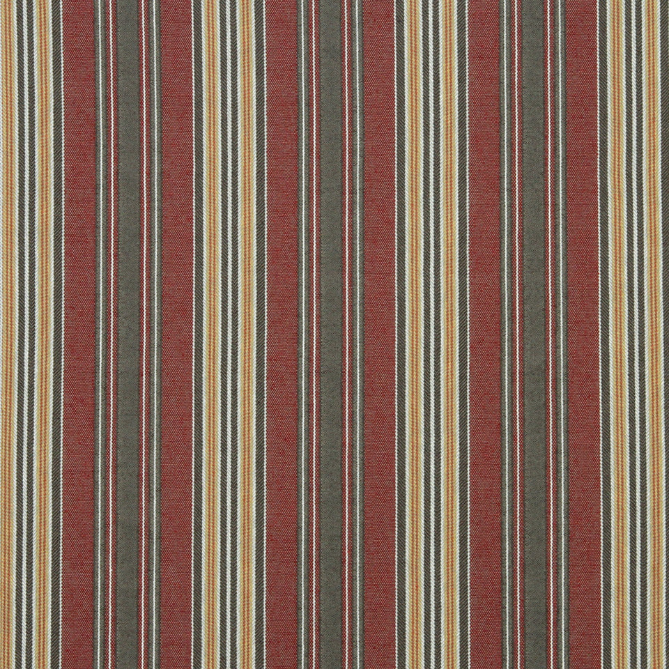 ECLECTIC Spaced Lines Fabric - Flame