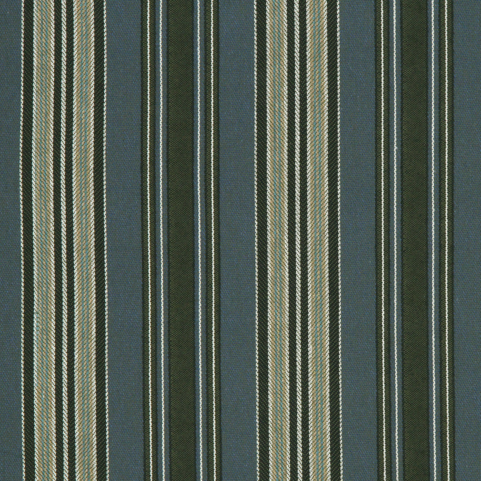 ECLECTIC Spaced Lines Fabric - Denim