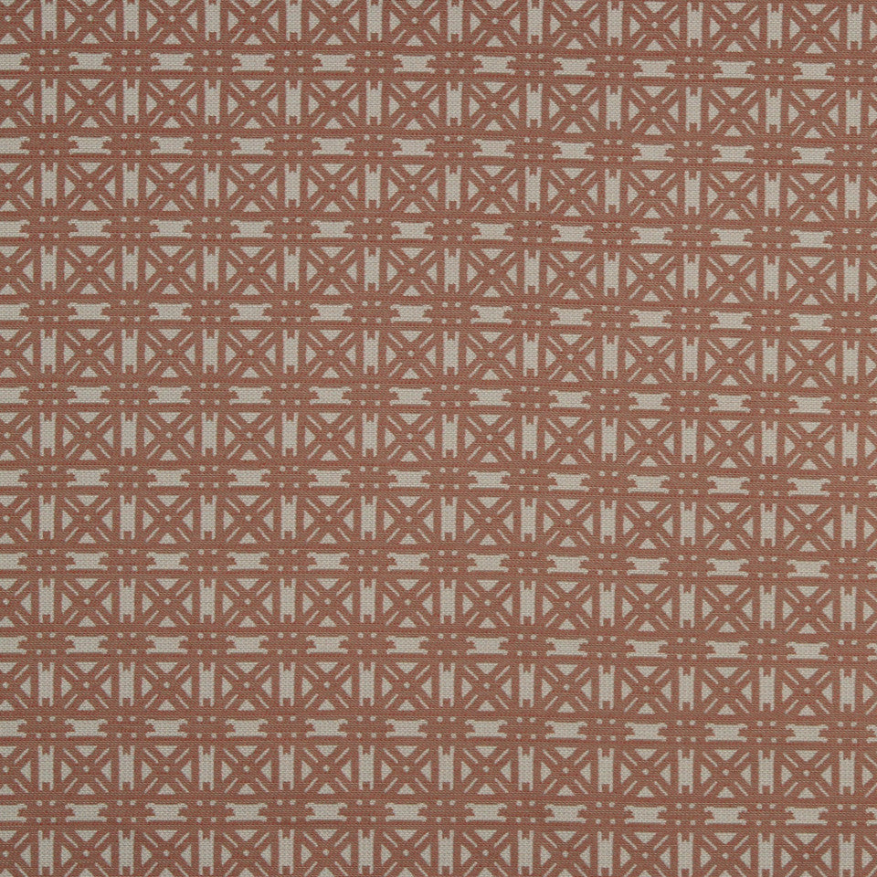 ECLECTIC Four Star Fabric - Flame