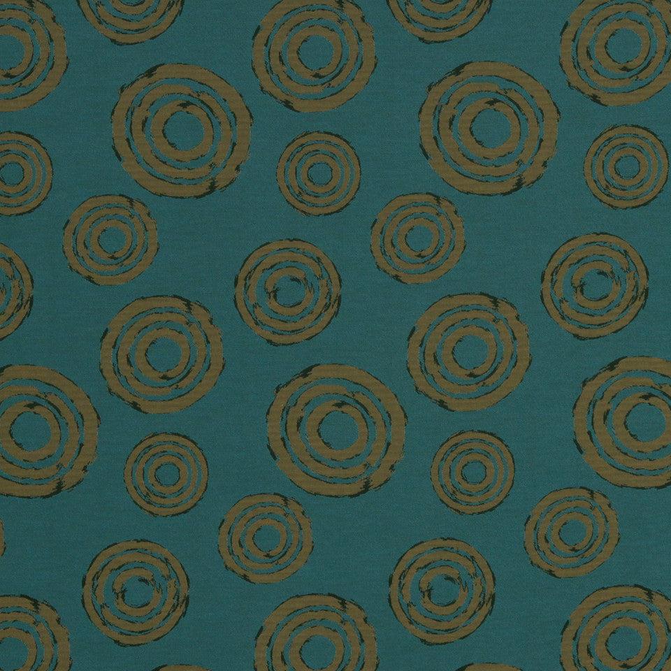 ECLECTIC Revolve Fabric - Turquoise