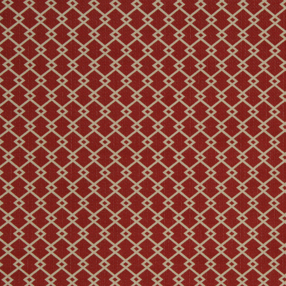 ECLECTIC Zigzag Diamond Fabric - Flame
