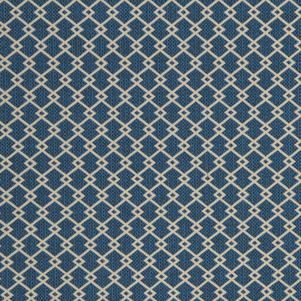 ECLECTIC Zigzag Diamond Fabric - Abyss