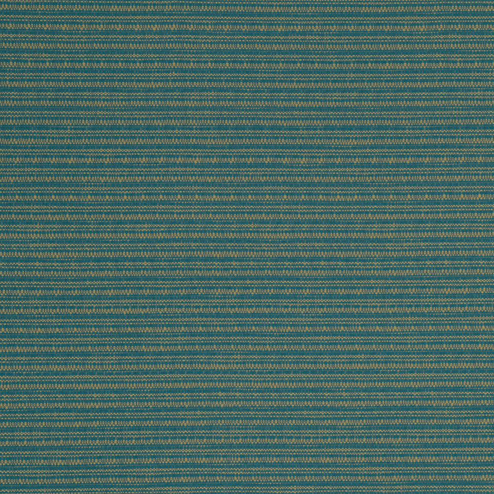 ECLECTIC Equal Rows Fabric - Turquoise