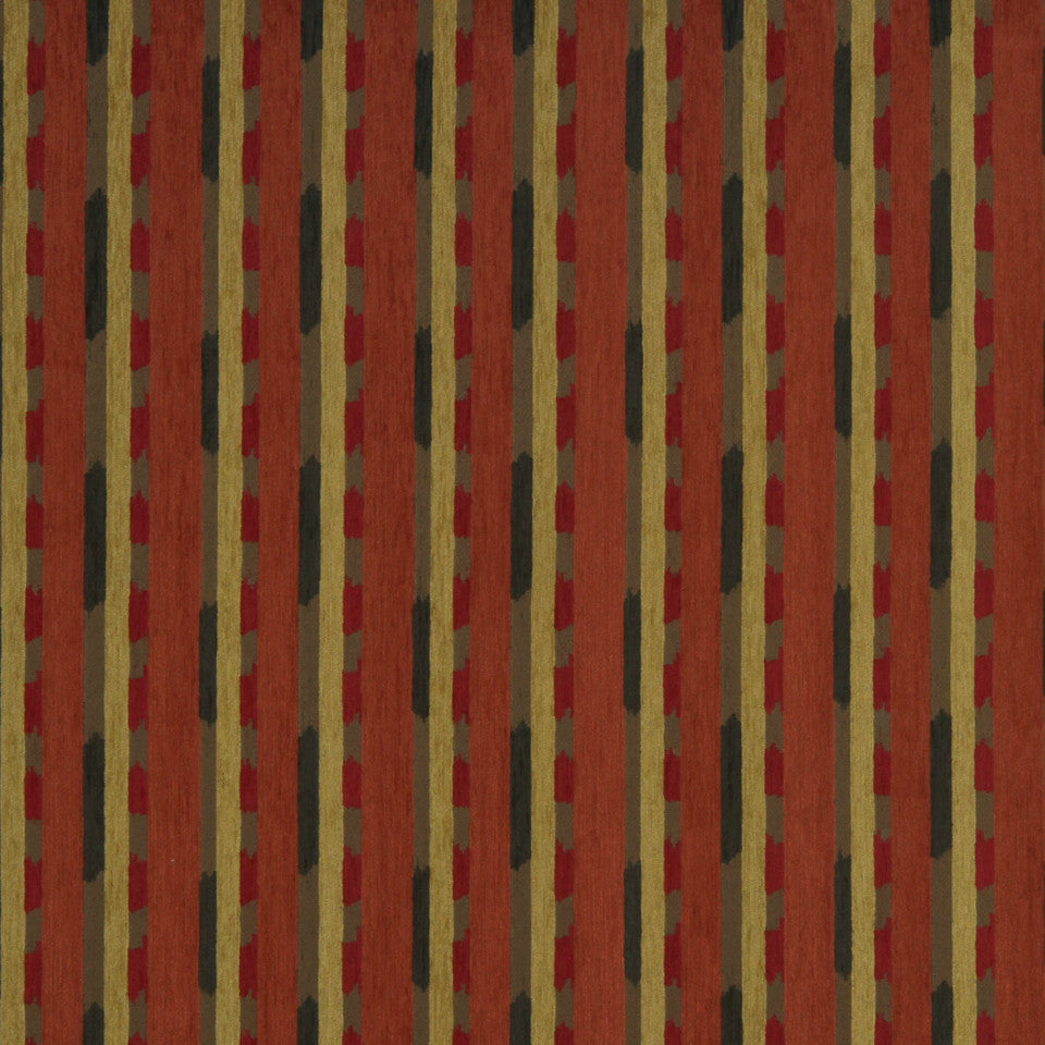 ECLECTIC Global Ikat Fabric - Spice