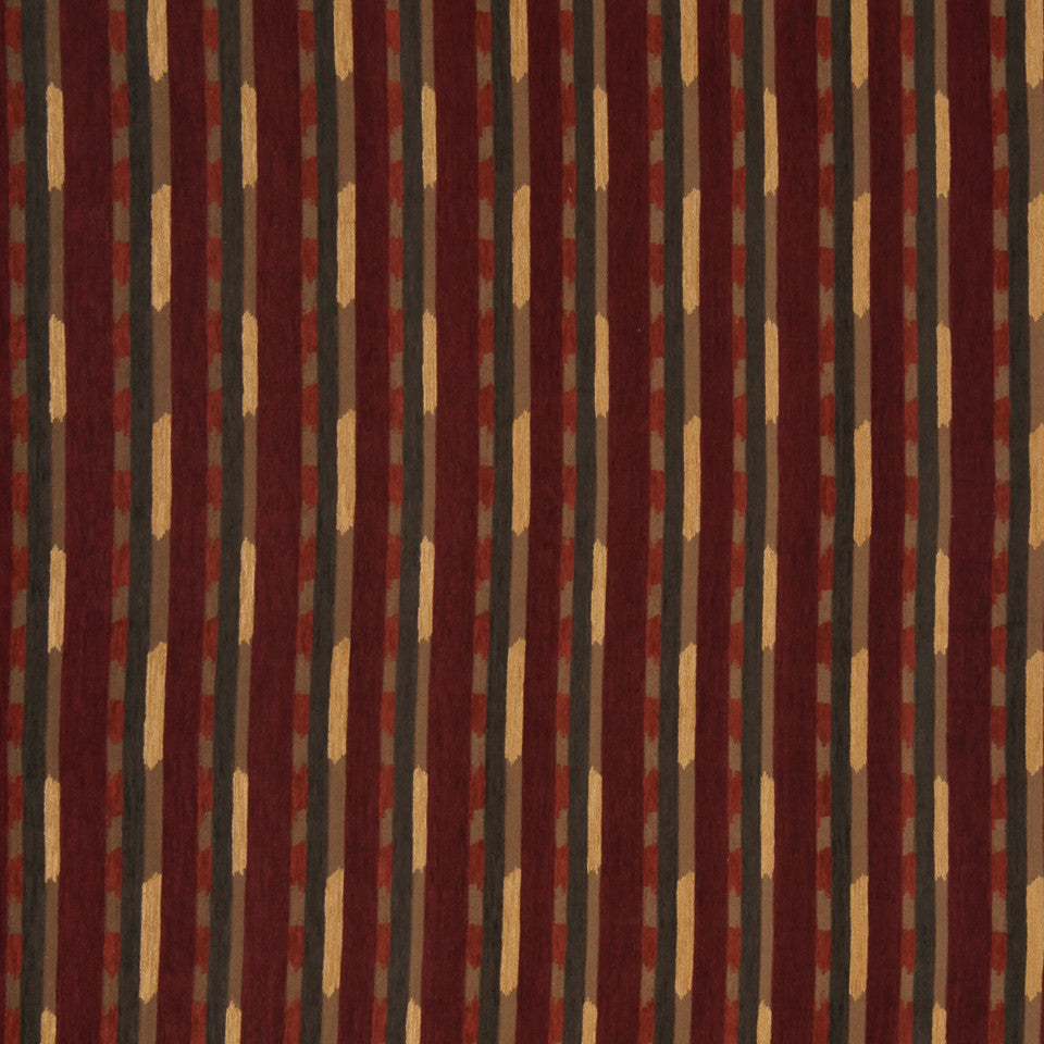 ECLECTIC Global Ikat Fabric - Ember