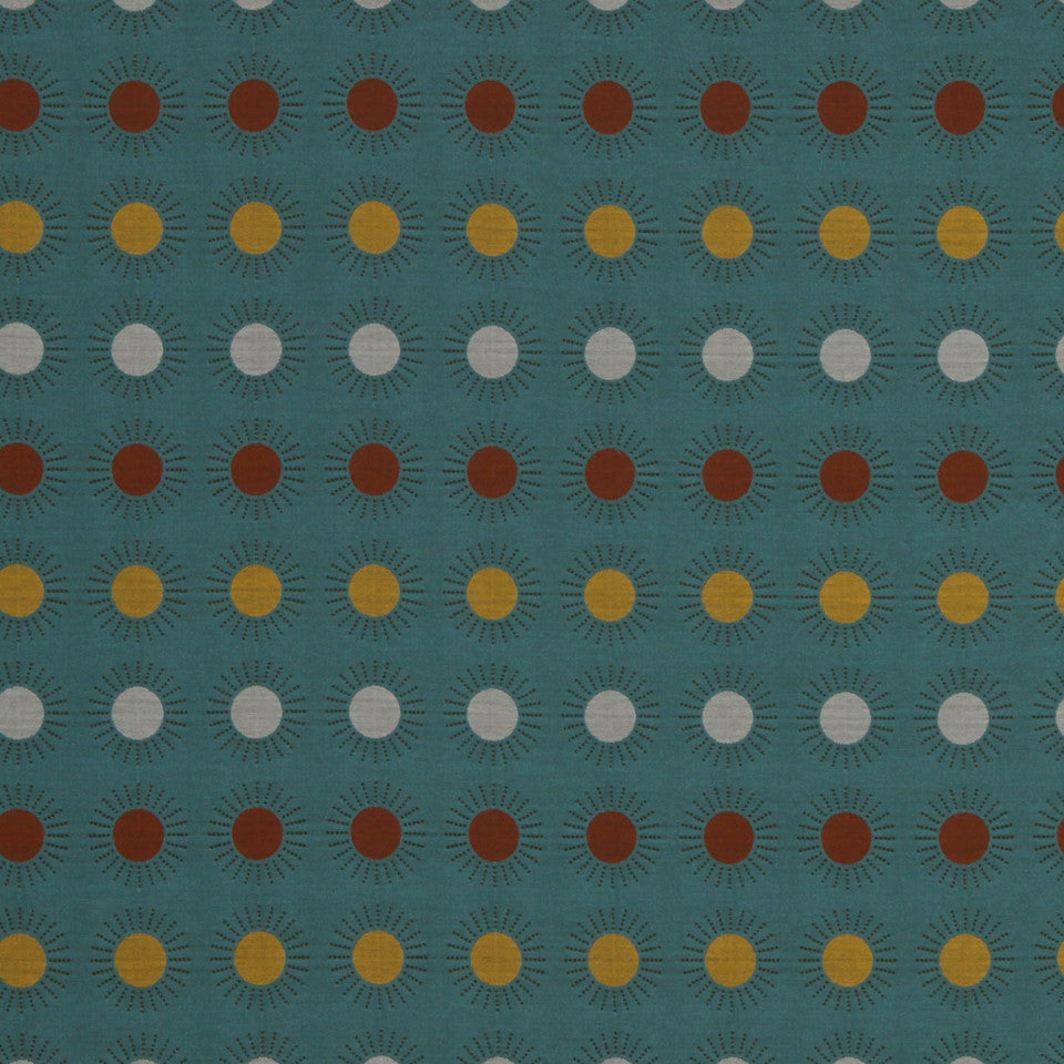 ECLECTIC Super Star Fabric - Turquoise