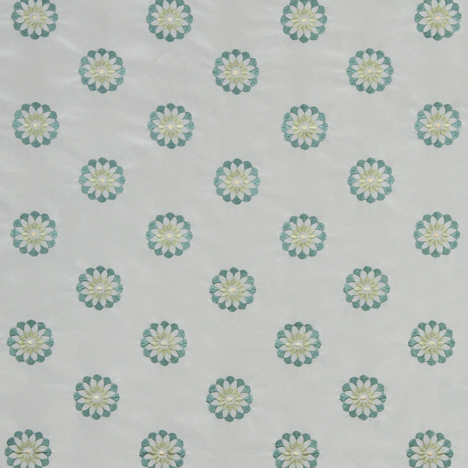 LAGOON-COVE-ALOE Thistle Garden Fabric - Cove
