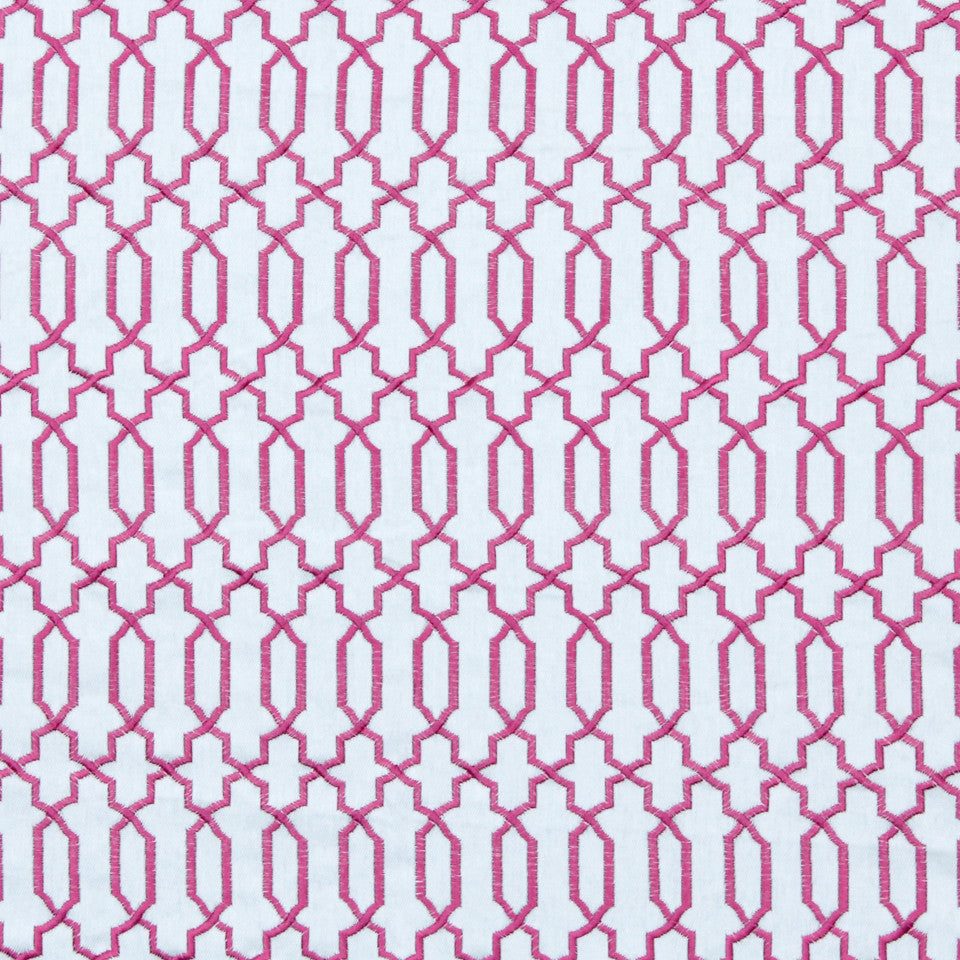 FUCHSIA Kyle James Fabric - Fuchsia