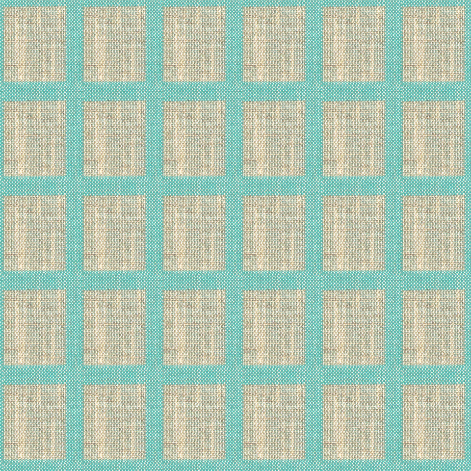 TURQUOISE Twill Works Fabric - Turquoise