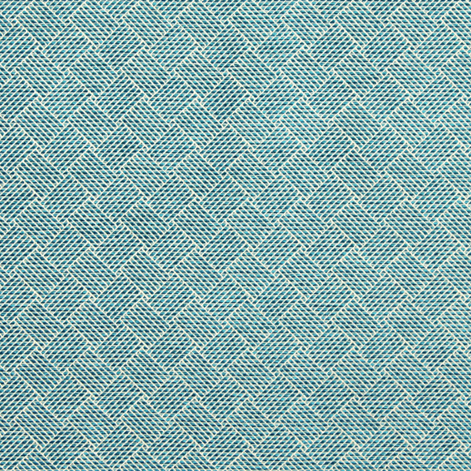 TURQUOISE Marble Arch Fabric - Turquoise