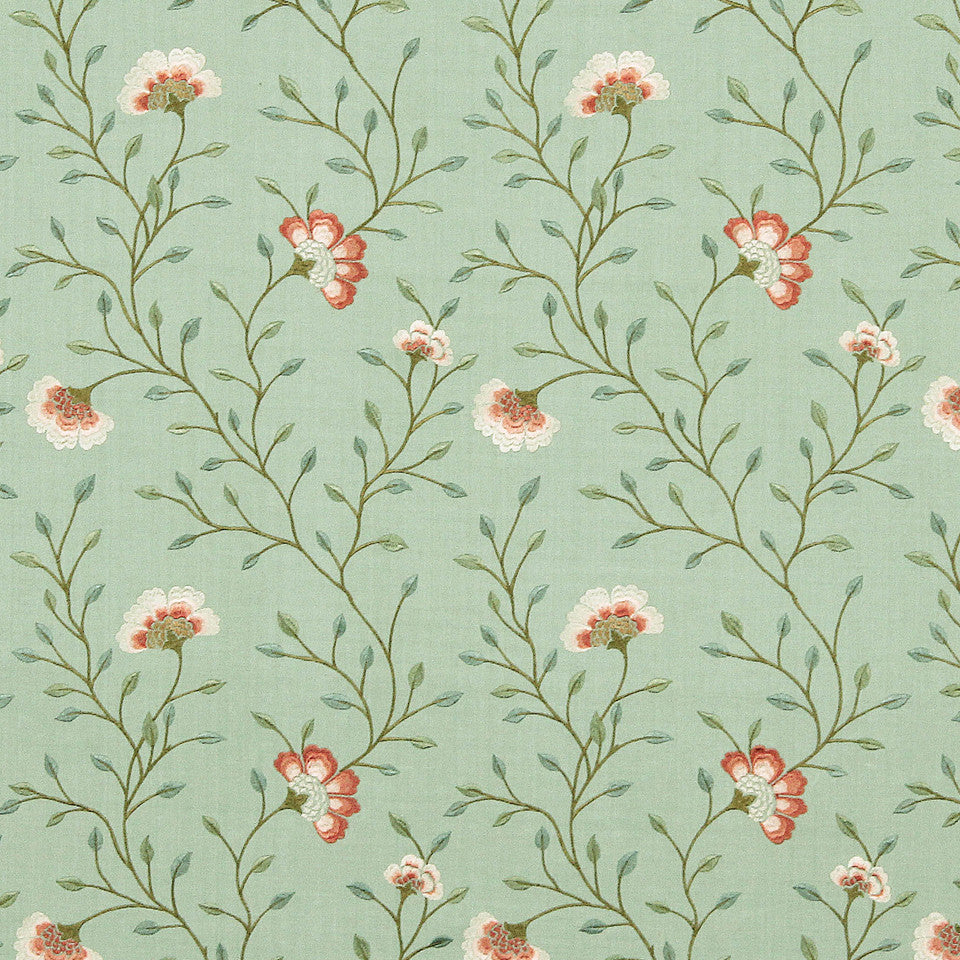 VIRIDIAN Spring Fancy Fabric - Viridian