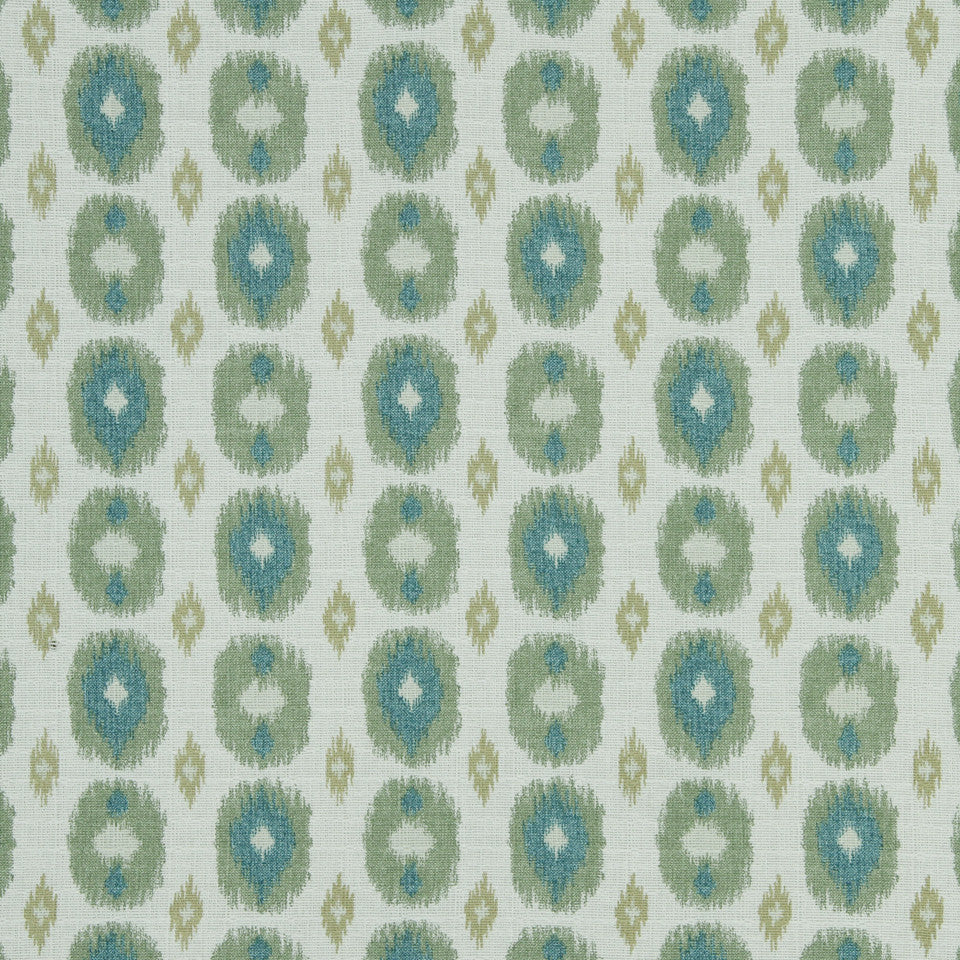 LAGOON-COVE-ALOE Newton Corner Fabric - Aloe