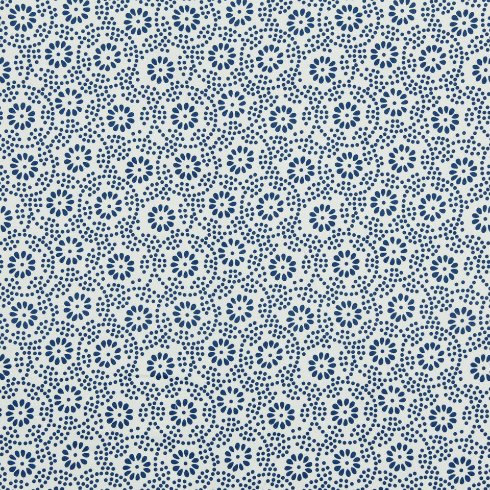MARINER-COASTAL-NAVY Petal Power Fabric - Coastal