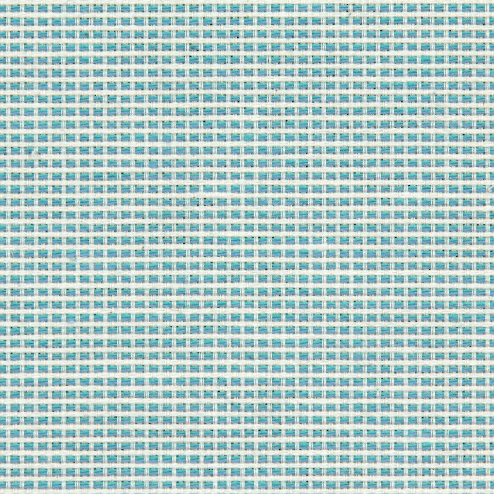 TURQUOISE Graphic Lines Fabric - Turquoise