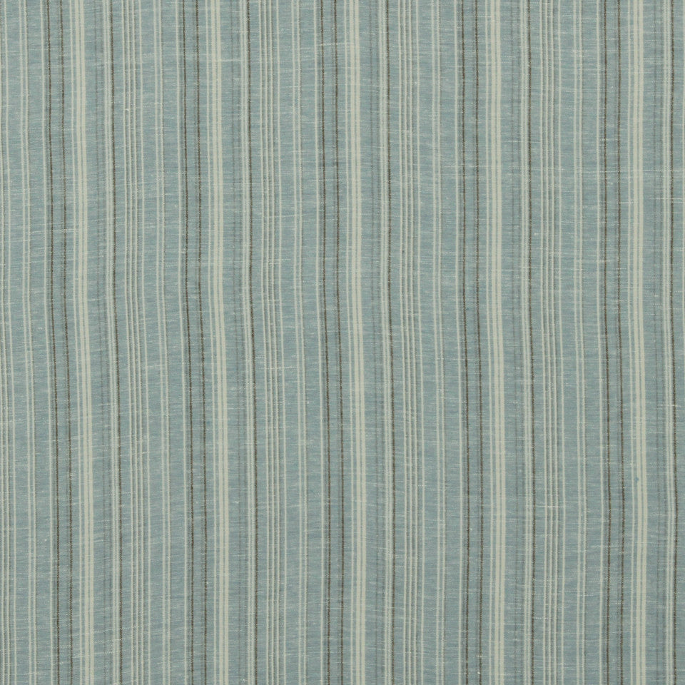 MARINER-COASTAL-NAVY Cool Stripes Fabric - Mariner
