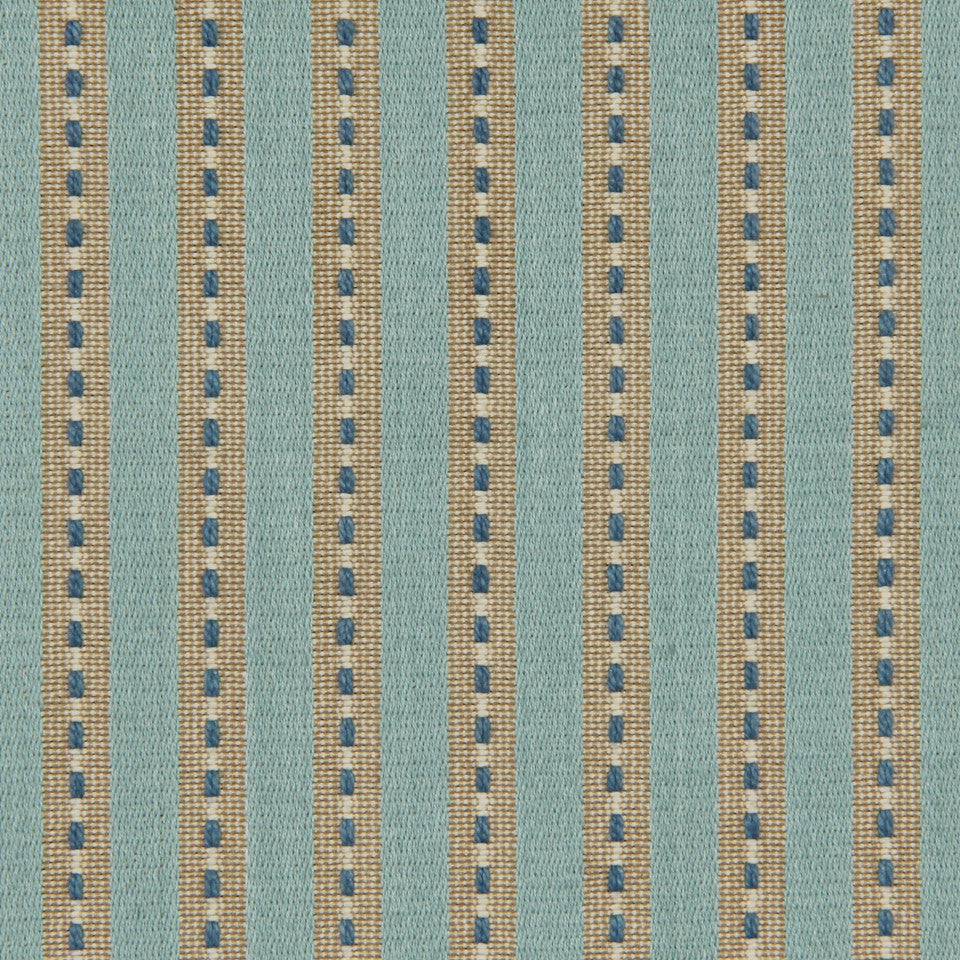 LAGOON-COVE-ALOE Above Board Fabric - Lagoon