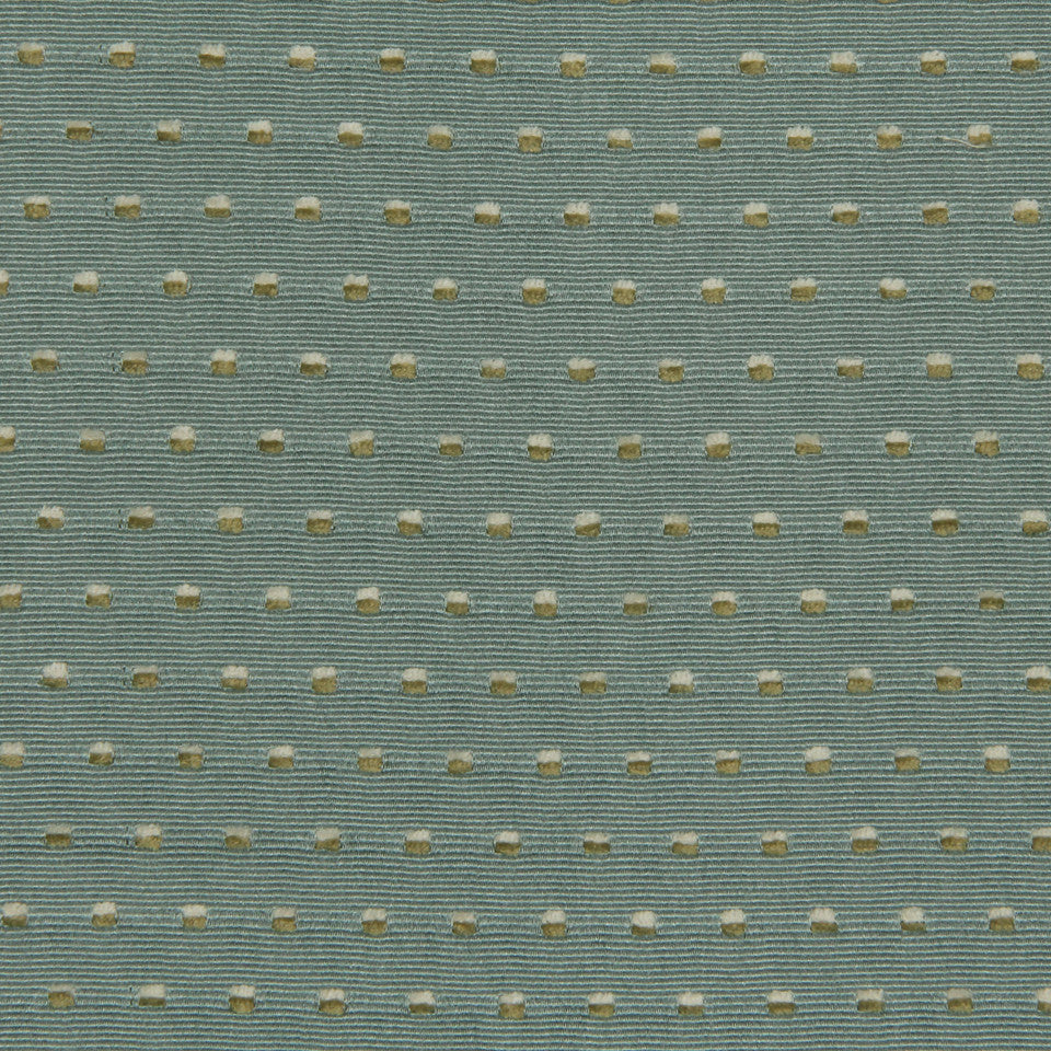 LAGOON-COVE-ALOE Little Dots Fabric - Lagoon