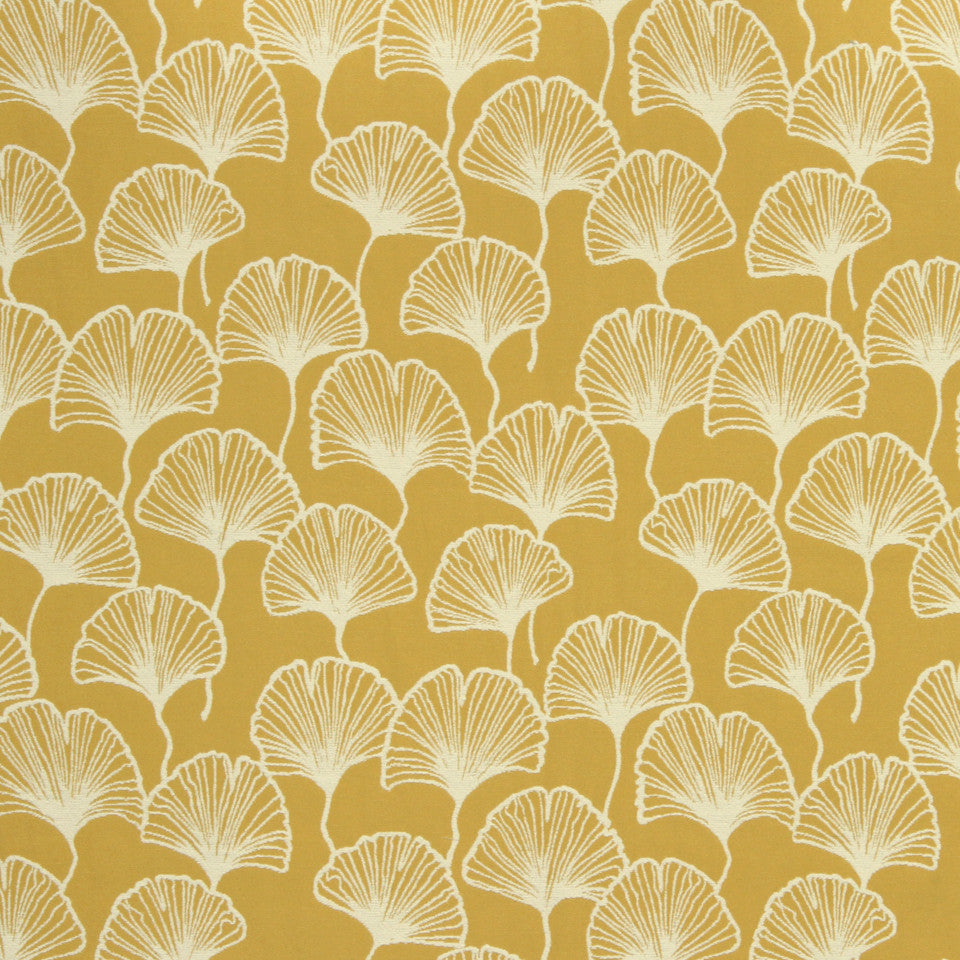 GOLDEN-MAIZE-HONEYSUCKLE Spring Cheer Fabric - Honeysuckle