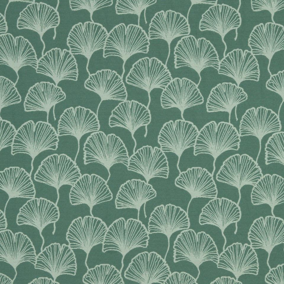 LAGOON-COVE-ALOE Spring Cheer Fabric - Lagoon