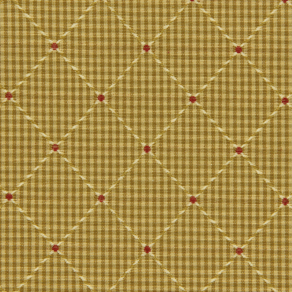 GOLDEN-MAIZE-HONEYSUCKLE Venus Transit Fabric - Golden
