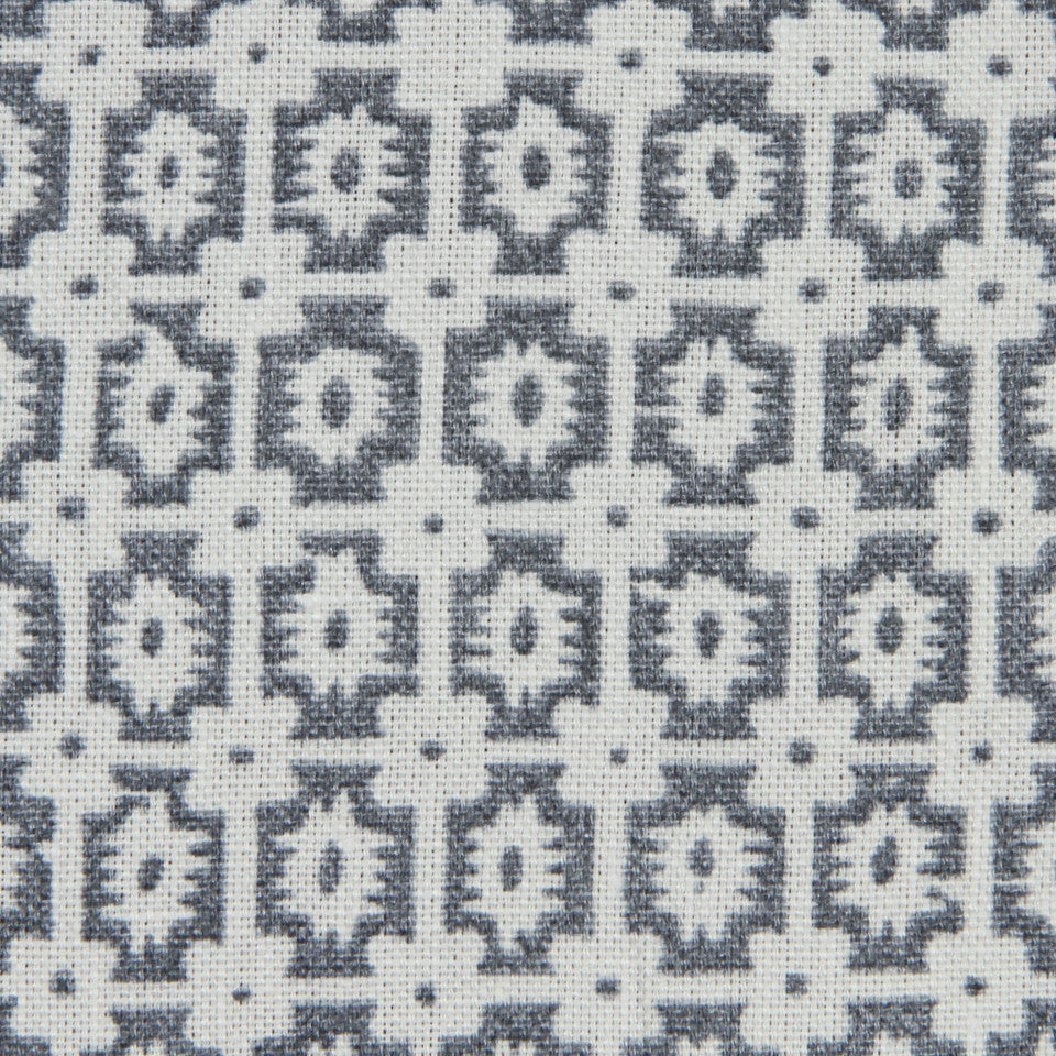 MARINER-COASTAL-NAVY Inman Square Fabric - Navy