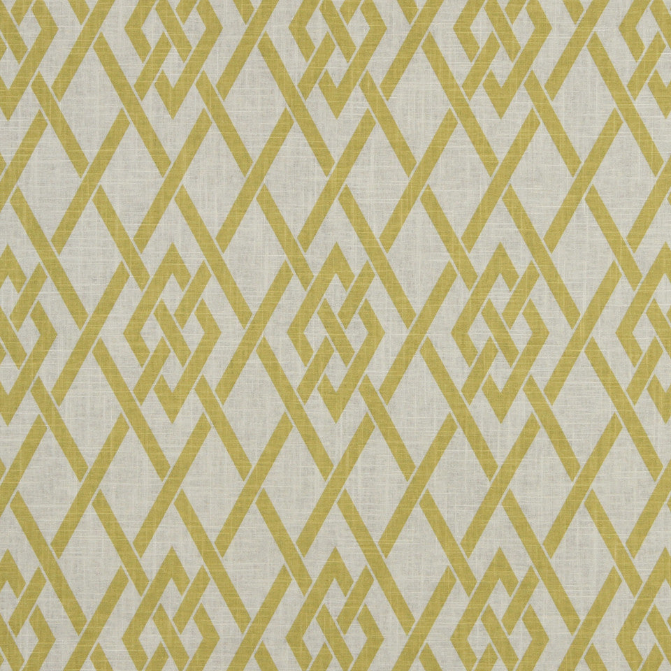 GOLDEN-MAIZE-HONEYSUCKLE Morgan Marie Fabric - Honeysuckle
