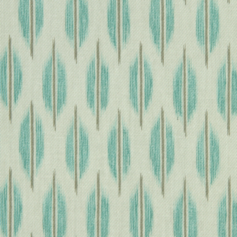 LAGOON-COVE-ALOE Haltom City Fabric - Lagoon