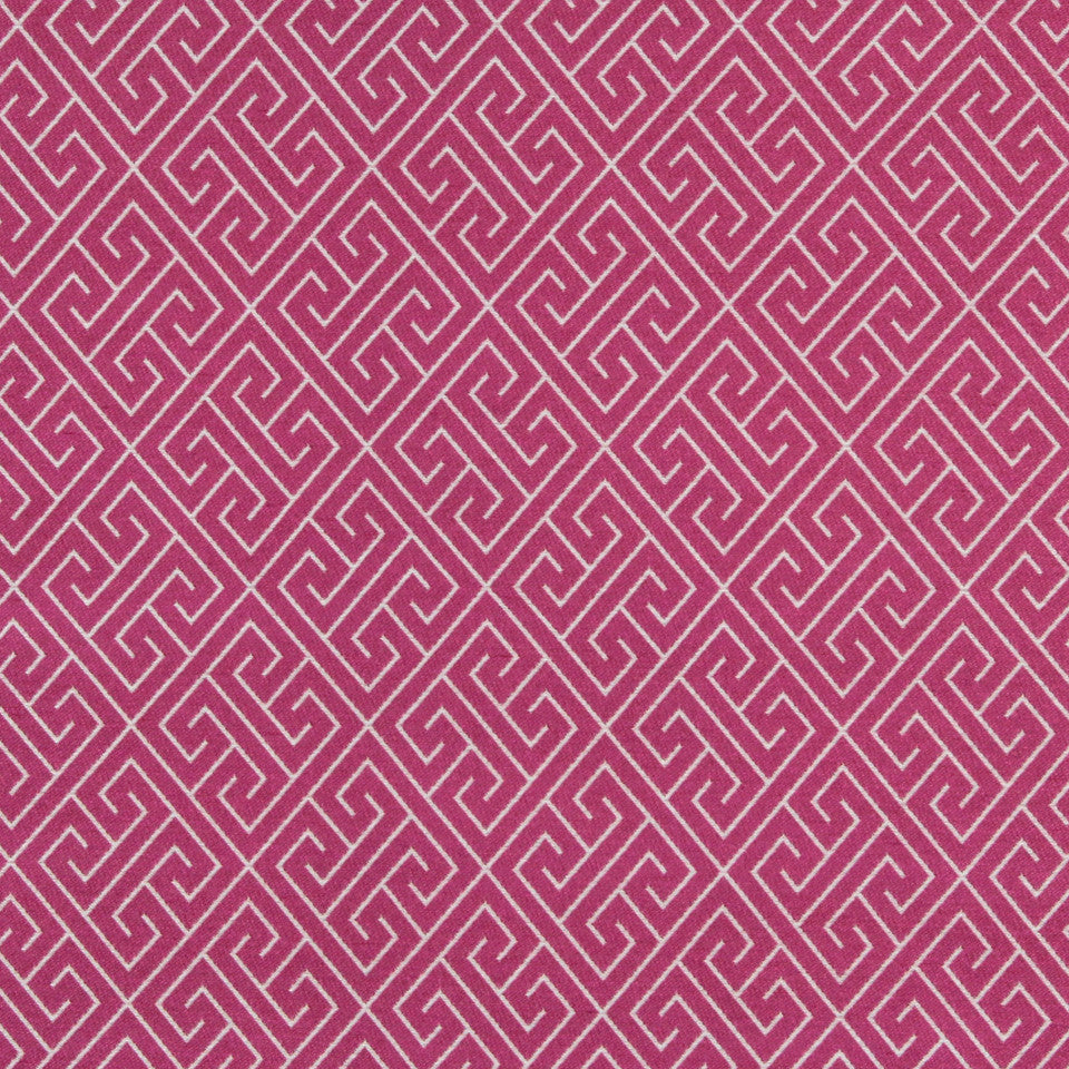 FUCHSIA Endless Paths Fabric - Fuchsia