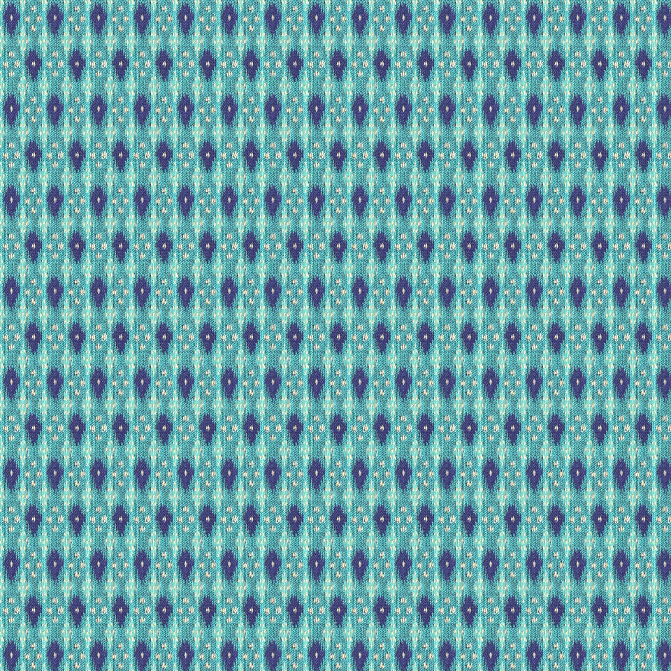 TURQUOISE Mexia Fabric - Turquoise