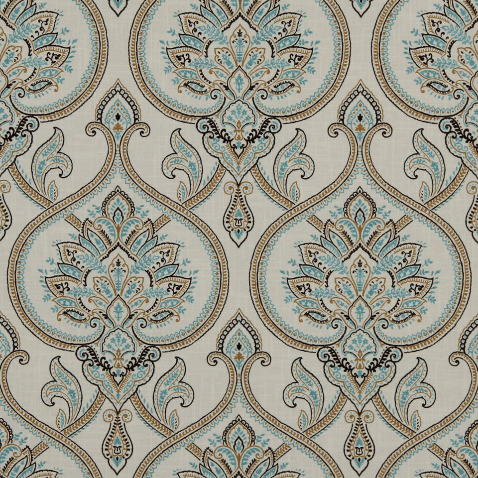 LAGOON-COVE-ALOE Scalabrine Fabric - Cove