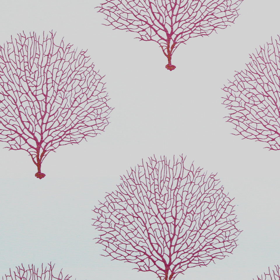 FUCHSIA Tree Branch Fabric - Fuchsia