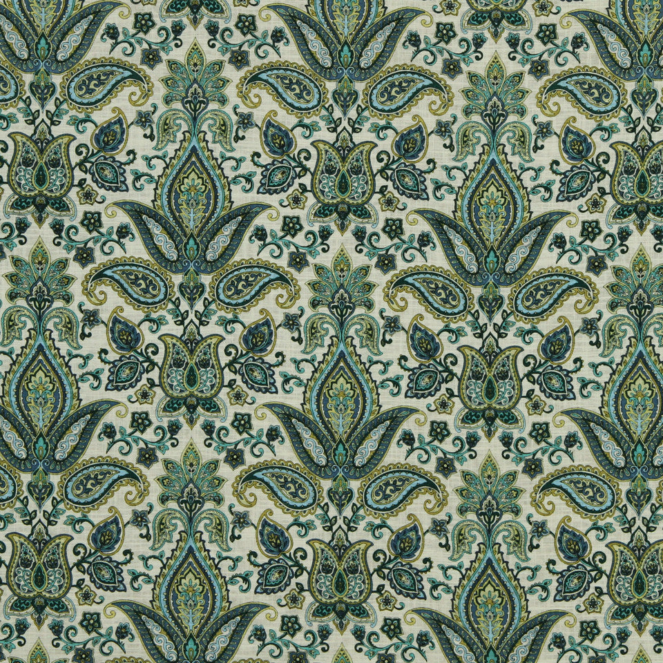 LAGOON-COVE-ALOE Garden Safari Fabric - Cove