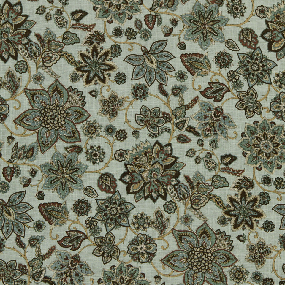 LAGOON-COVE-ALOE Gansu Fabric - Aloe