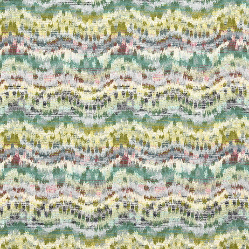 VIRIDIAN Distant Dawn Fabric - Viridian