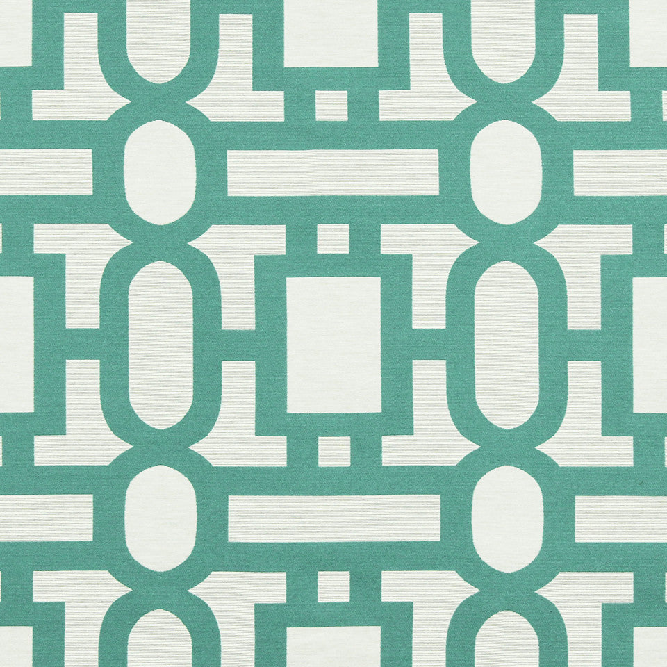 VIRIDIAN Bend The Rules Fabric - Viridian
