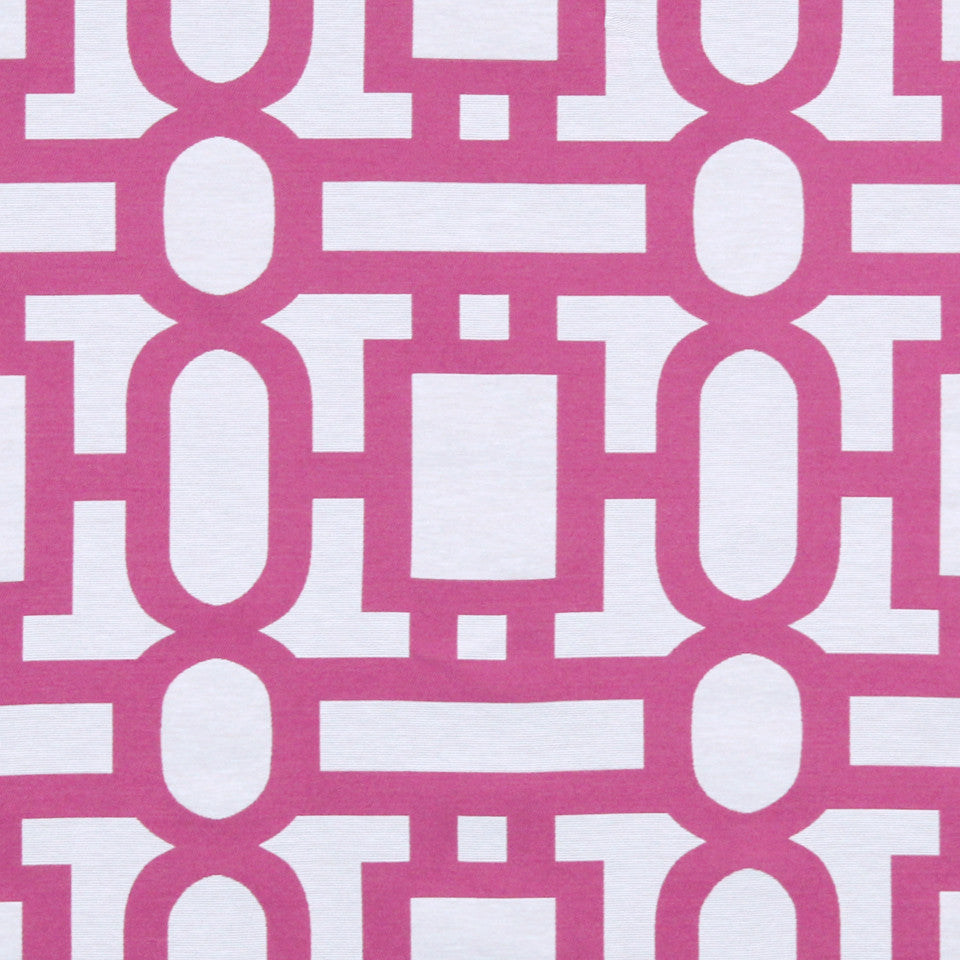 FUCHSIA Bend The Rules Fabric - Fuchsia