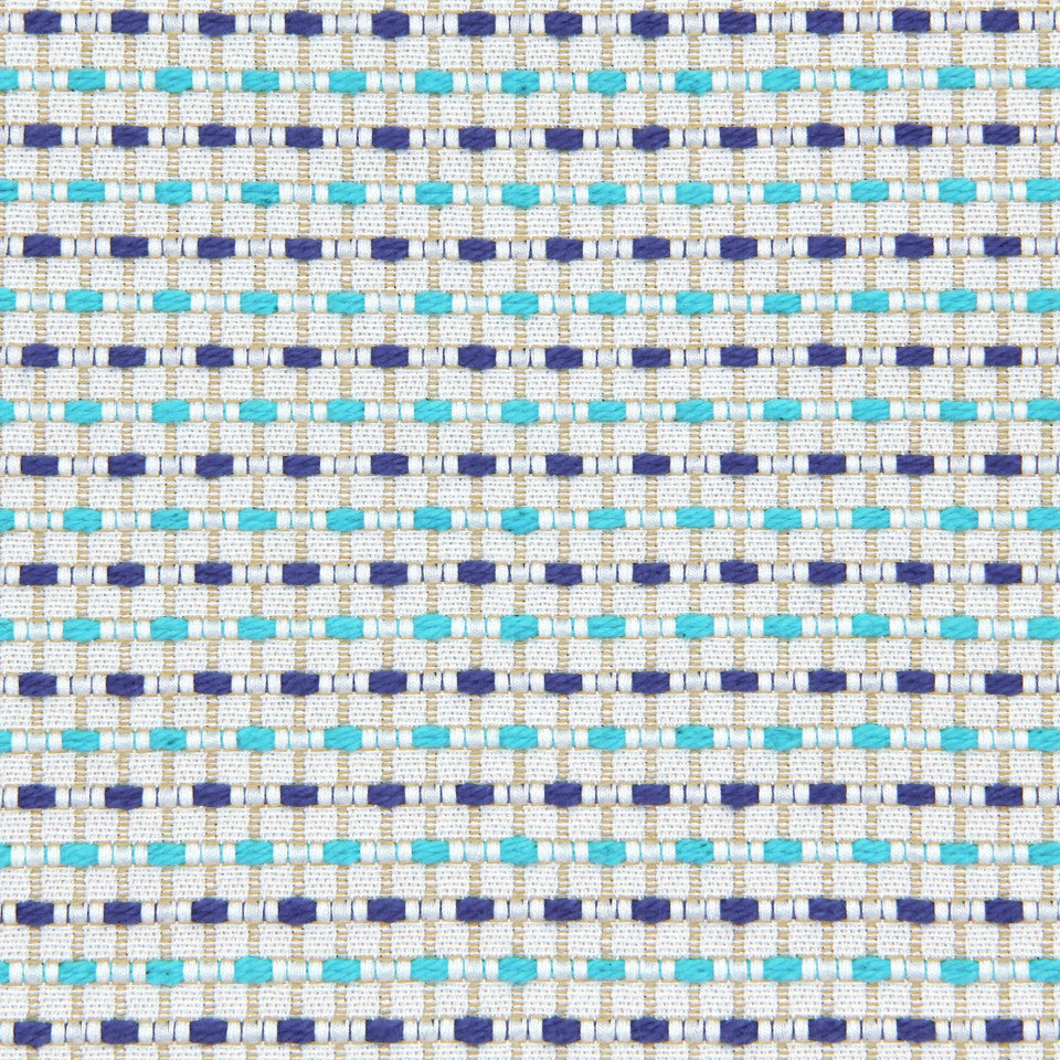 TURQUOISE Party Center Fabric - Turquoise