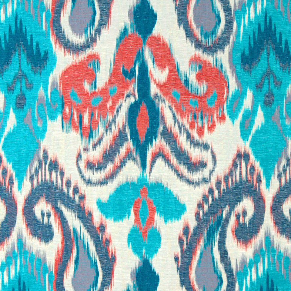TURQUOISE Break Of Day Fabric - Turquoise