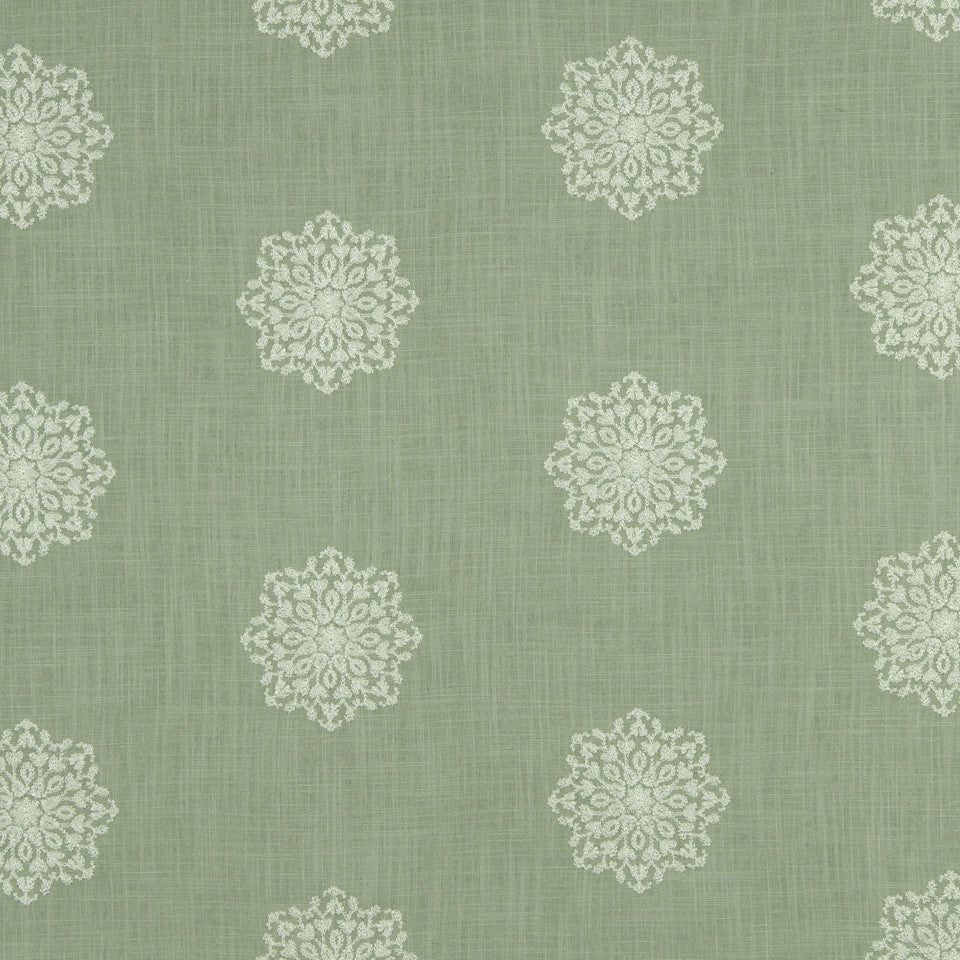 LAGOON-COVE-ALOE Newperran Fabric - Aloe