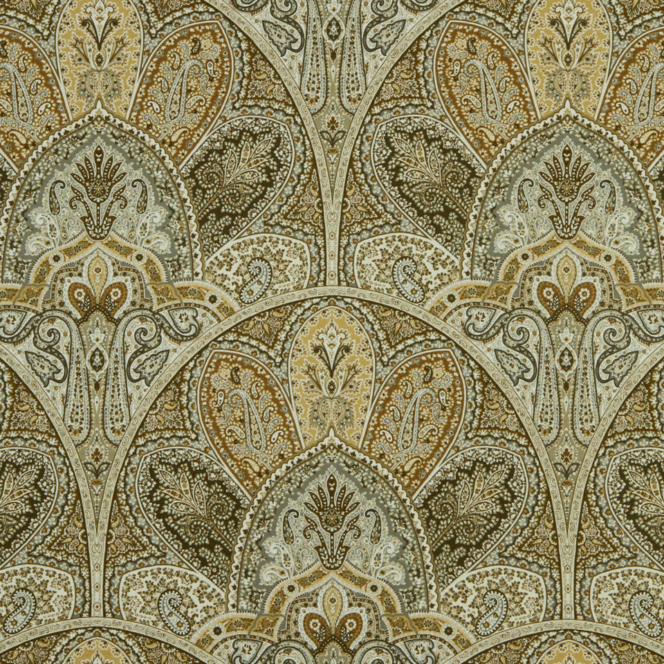 GOLDEN-MAIZE-HONEYSUCKLE Tencreek Fabric - Golden