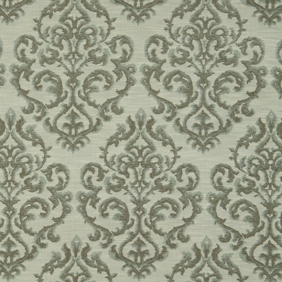 LAGOON-COVE-ALOE River Valley Fabric - Lagoon