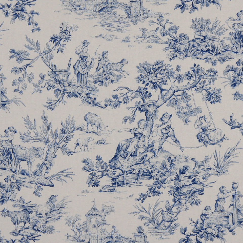 MARINER-COASTAL-NAVY Dream Time Fabric - Coastal