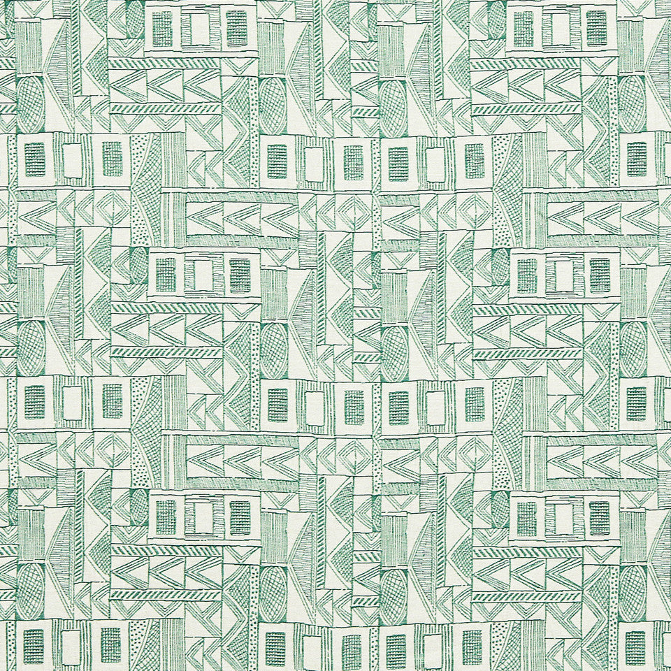VIRIDIAN Piece Together Fabric - Viridian