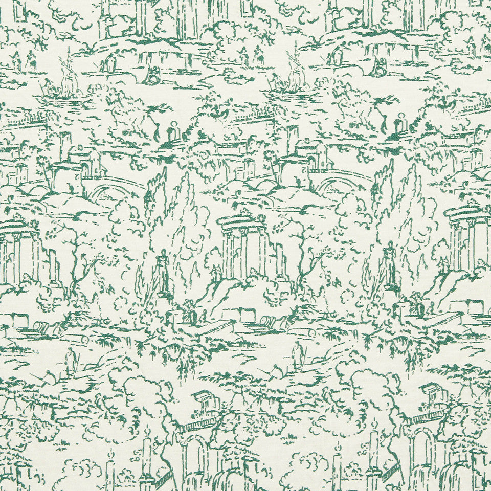 VIRIDIAN Meeting Place Fabric - Viridian